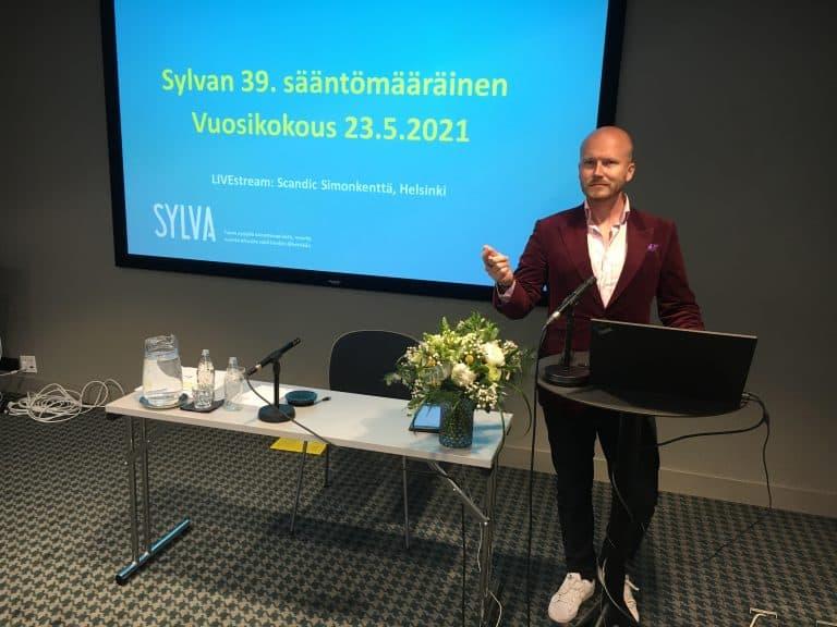 Sylvalle valittiin uusi hallitus Vuosikokouksessa 23.5.2021