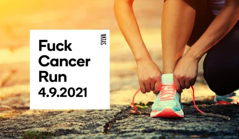 Teidät on haastettu mukaan virtuaaliseen Fuck Cancer Runiin 4.9.